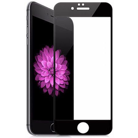 Защитное стекло 5D для iPhone 6/6S, черная рамка