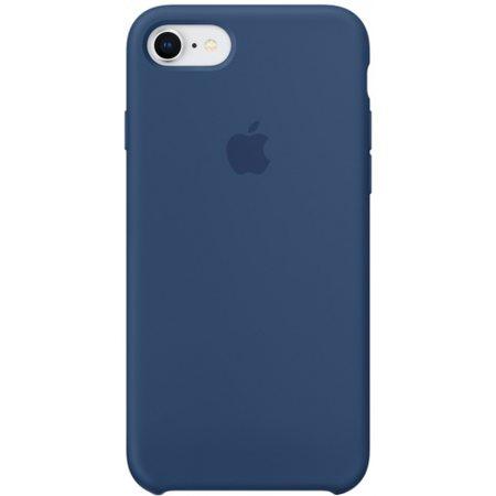 Силиконовый чехол для iPhone7/8, цвет «тёмный кобальт»
