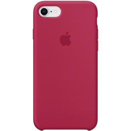 Силиконовый чехол для iPhone7/8, цвет «красная роза»