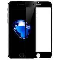 Защитное стекло 2D для iPhone 7 Plus, черная рамка