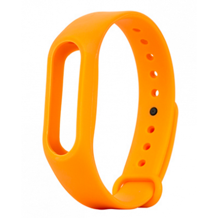 Ремешок для фитнес браслета Xiaomi Mi Band 2 Orange