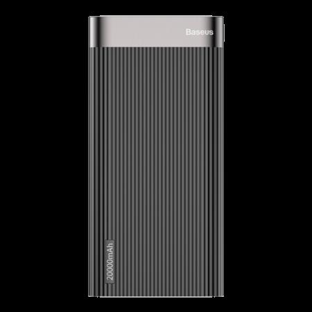 Внешний аккумулятор Baseus Parallel Type-C PD +QC3.0 power bank 20000mAh 18W, черный