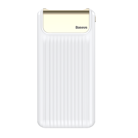 Внешний аккумулятор Baseus Thin Quick Charge 3.0 10000 mAh PPYZ-C02, Белый
