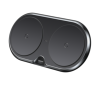 Беспроводное зарядное устройство Baseus Dual Wireless Plastic Style (WXSJK-01)