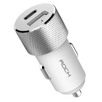 Автомобильная зарядка  ROCK Sitor PD Fast Charge USB Type-C USB 3.0 (RCC0131) White