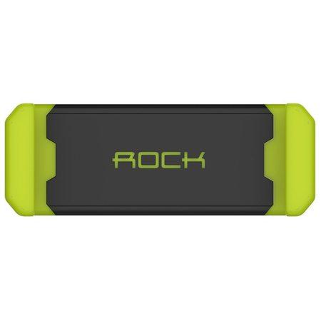 Автомобильный держатель ROCK Vent Car Holder black/green для смартфонов