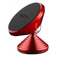 Магнитный автомобильный держатель Rock Magnetic Dashboard Car Mount (Dumbbell), красный