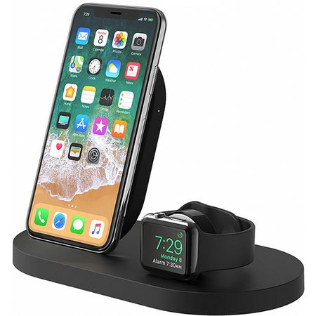 Беспроводная док-станция Belkin BoostUp F8J235vfBLK для iPhone/Apple Watch (Black)