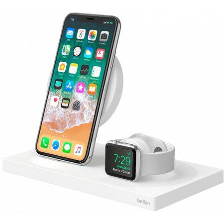 Беспроводная док-станция Belkin BoostUp F8J234vfWHT для iPhone/Apple Watch (White)
