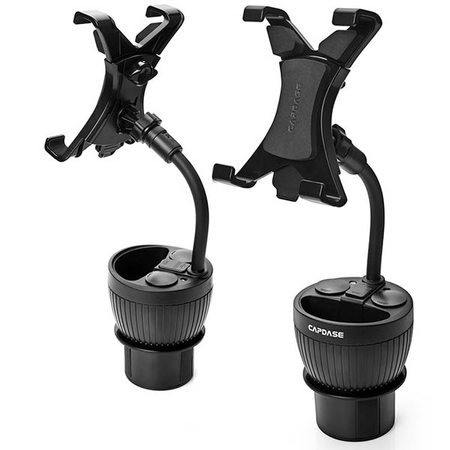 Универсальный держатель с зарядкой в подстаканник для iPad Capdace Powercup Tab-x Mount Car Charger Cup Holder