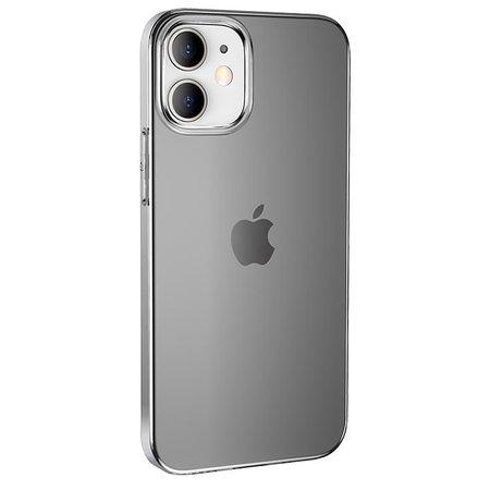 Силиконовый чехол Hoco для iPhone 12 (затемненный)
