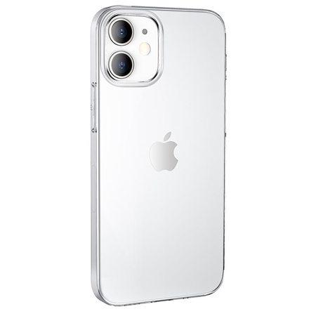Силиконовый чехол Hoco для iPhone 12 (прозрачный)
