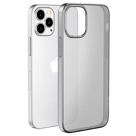 Силиконовый чехол Hoco для iPhone 12 Pro Max (затемненный)