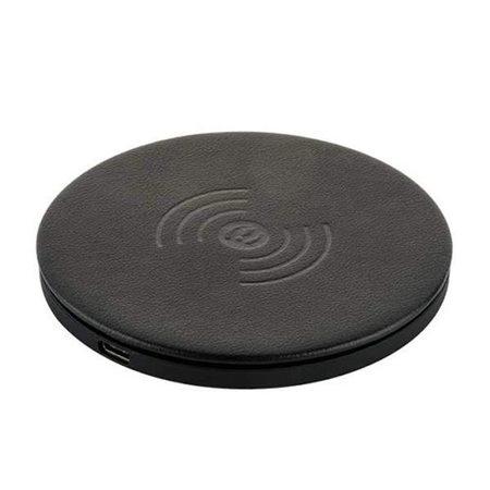 Беспроводное зарядное устройство i-Carer (QX100-IWXC003bl) Microfiber Leather Fast Wireless Charging (5-9V/2A)