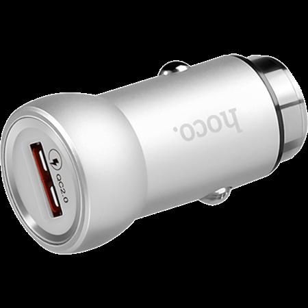 Автомобильная зарядка HOCO Z4 Silver