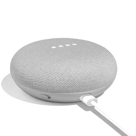 Беспроводная смарт-колонка Google Nest Mini 2nd Gen Chalk