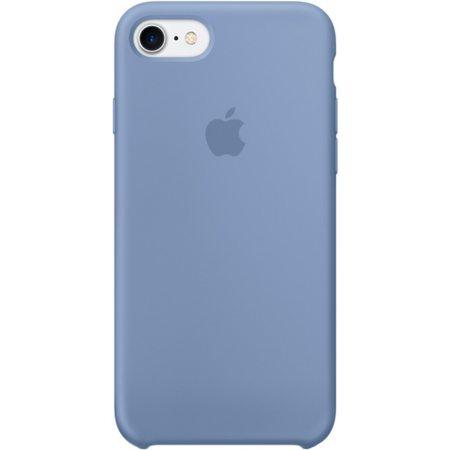 Силиконовый чехол для iPhone7/8, лазурный цвет