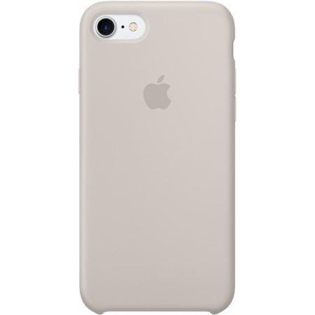 Силиконовый чехол для iPhone7/8, бежевыйцвет