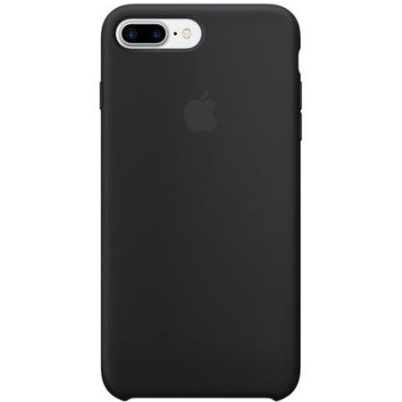 Силиконовый чехол для iPhone7/8Plus, чёрныйцвет