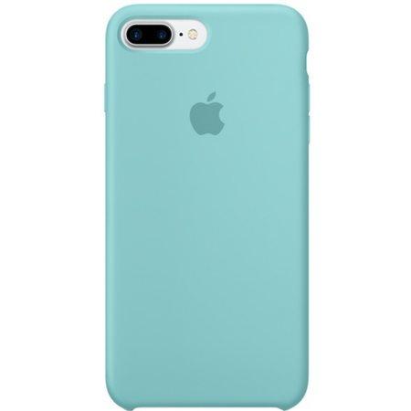 Силиконовый чехол для iPhone7/8Plus, цвет«синееморе»
