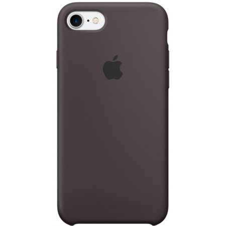 Силиконовый чехол для iPhone7/8, цвет«тёмноекакао»