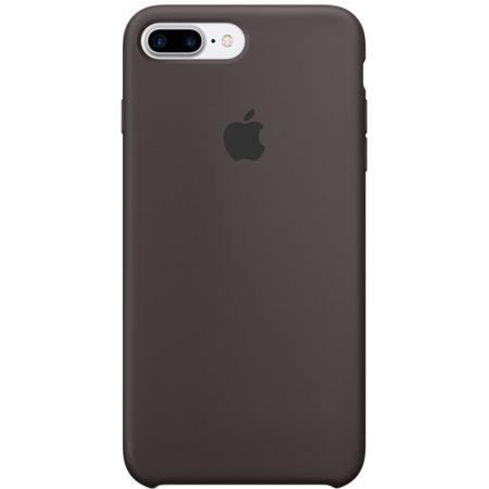 Силиконовый чехол для iPhone7/8Plus, цвет«тёмноекакао»