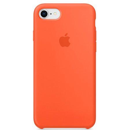 Силиконовый чехол для iPhone 8/7, цвет «оранжевый шафран»