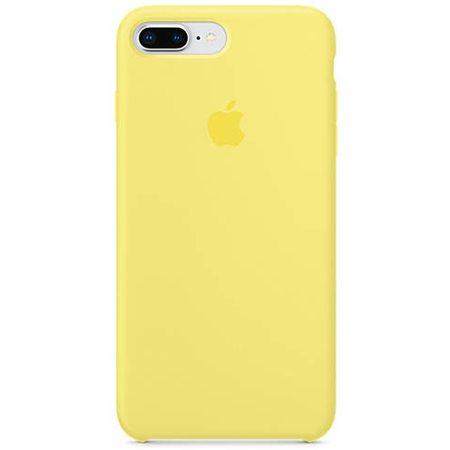 Силиконовый чехол для iPhone 8 Plus/7 Plus, цвет «холодный лимонад»