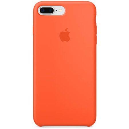 Силиконовый чехол для iPhone 8 Plus/7 Plus, цвет «оранжевый шафран»