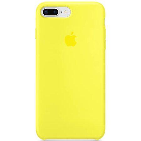 Силиконовый чехол для iPhone 8 Plus/7 Plus, цвет «жёлтый неон»
