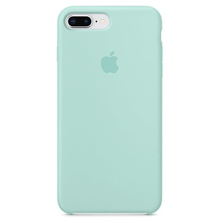 Силиконовый чехол для iPhone 8 Plus/7 Plus, цвет «зелёная лагуна»