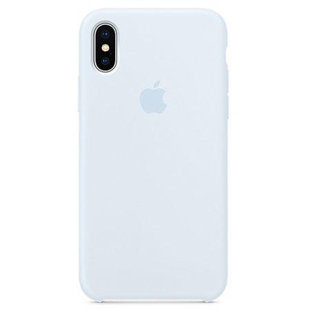 Силиконовый чехол для iPhone X, цвет «голубое небо»