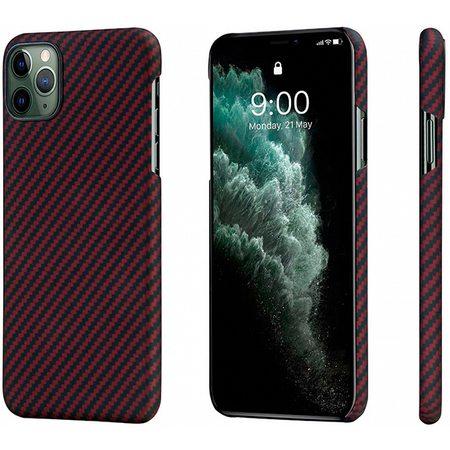 Чехол Pitaka  MagCase для  iPhone 11 Pro, черно-красный