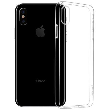 Силиконовый чехол Hoco для iPhone XS (прозрачный)
