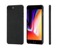 Чехол Pitaka MagCase (Кевлар) для iPhone 8 /7 Plus черно-серый в полоску