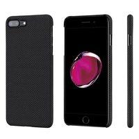 Чехол Pitaka MagCase (Кевлар) для iPhone 8/7 Plus черно-серый в шашку