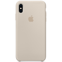 Силиконовый чехол для iPhone XS, бежевый цвет