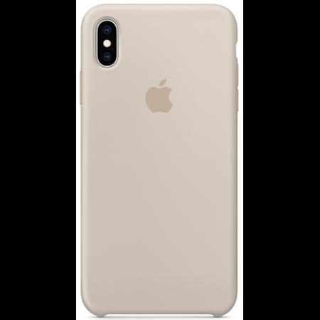 Силиконовый чехол для iPhone XS Max, бежевый цвет