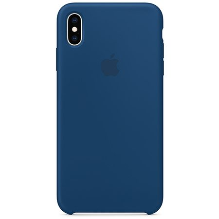 Силиконовый чехол для iPhone XS, цвет «морской горизонт»