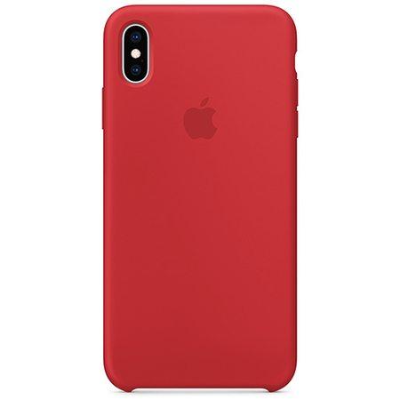 Силиконовый чехол для iPhone XS Max, (PRODUCT)RED
