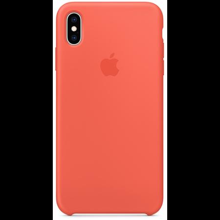 Силиконовый чехол для iPhone XS, цвет «спелый нектарин»