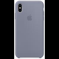 Силиконовый чехол для iPhone XS Max, цвет «тёмная лаванда»