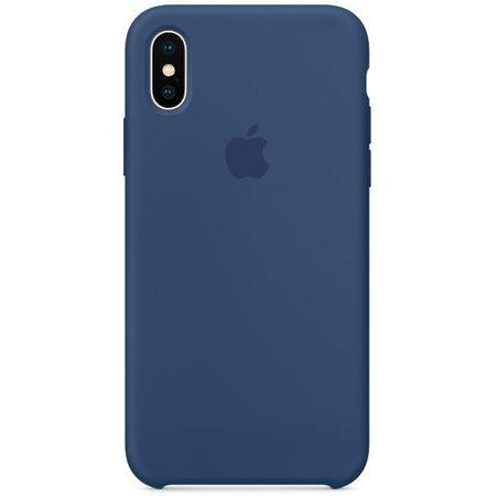 Силиконовый чехол дляiPhoneX, цвет «тёмный кобальт»