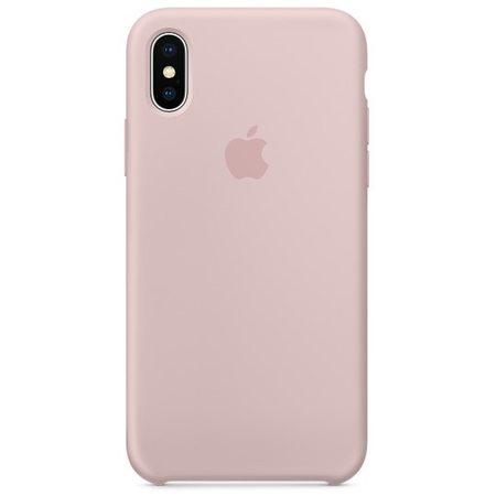 Силиконовый чехол дляiPhoneX, цвет «розовый песок»