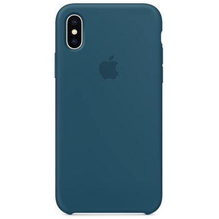 Силиконовый чехол дляiPhoneX, цвет «космический синий»