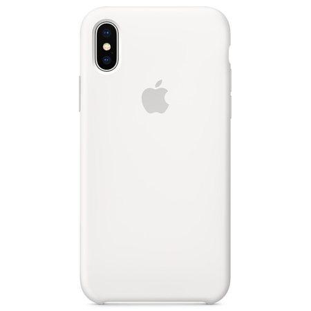 Силиконовый чехол дляiPhoneX, белый цвет