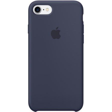 Силиконовый чехол для iPhone7/8, тёмно-синийцвет