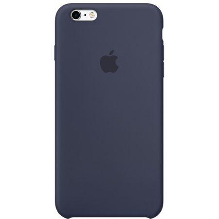 Силиконовый чехол для iPhone6Plus/6sPlus, тёмно-синий цвет
