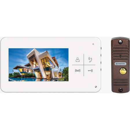 Комплект видеодомофона Tantos LUMI kit