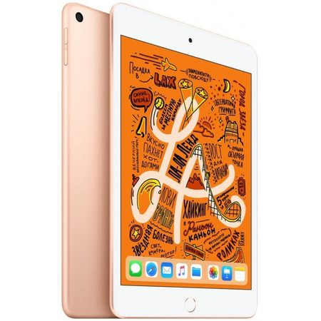 Apple iPad mini 2019 Wi-Fi + Cellular 64 ГБ, золотой